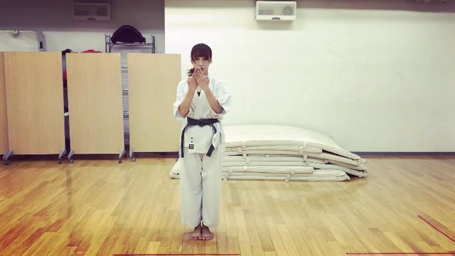 岡田 サリオ 空手