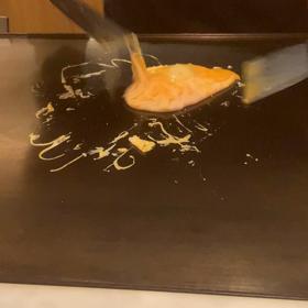大阪グルメ【鉄板焼きイルテラ】鉄板オムライスの画像