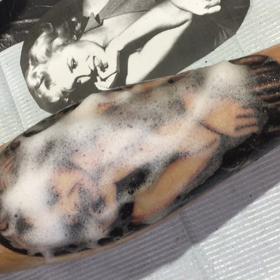 刺青★MarilynMonroe(脚)B&G!の画像