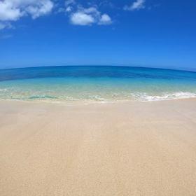 今日のハワイの海♡の画像