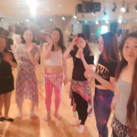 【レベルアップコースに美女集まる❣️大阪 アキベリーダンススタジオ 】の画像