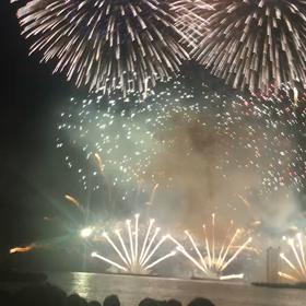 驚きの花火大会の画像