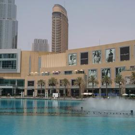 Dubai☆Dubai Fountain☆動画有り☆ピエンヌミニミニ手のひらの景色シリーズ♪☆の画像