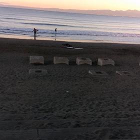 今日の波の画像