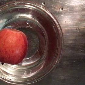 リンゴに鍼?!の画像