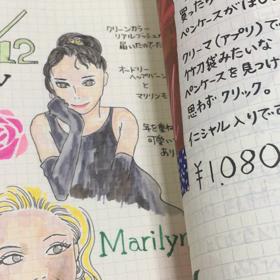 今夜のイラスト日記の画像