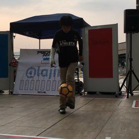 フリースタイルフットボール アジアンカップ2017 関東大会に息子たちが出場!の画像