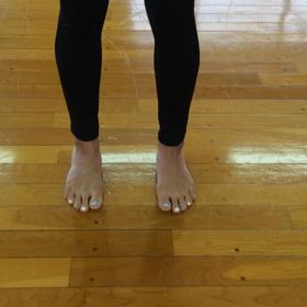 自宅で出来る足首トレ〜バレトンウォーミングアップ〜⑤の画像