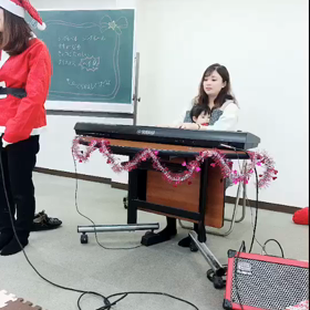 【おやこミュージック】天白植田教室☆クリスマス講座の画像