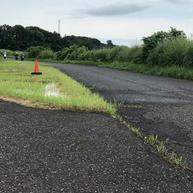 雨だったので、模擬レースとなりましたの画像