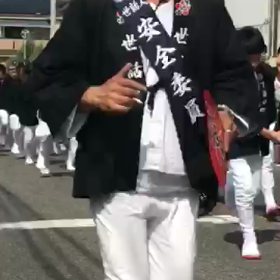 岸和田 山手 10月祭礼 だんじり祭りの画像
