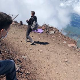 富士登山に行ってまいりました。の画像