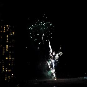 Fireworks   waikiki  花火 Hawaii 動画 4の画像