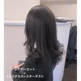 【大人女性におすすめ】レイヤーカット×イルミナカラーの画像