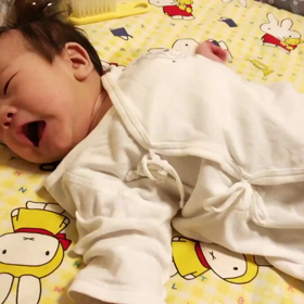 生後3か月で寝返りしたぞーの画像