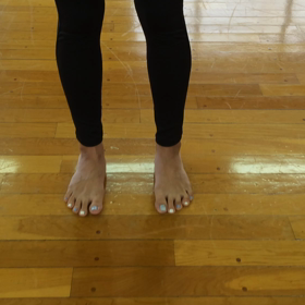 自宅で出来る足の指トレ〜バレトンウォーミングアップ〜④の画像