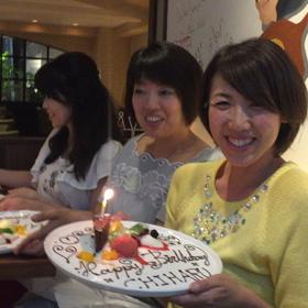 心友メンバーのお誕生日会!の画像