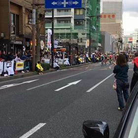 何万人も集まったジャパンカップクリテリウムの画像