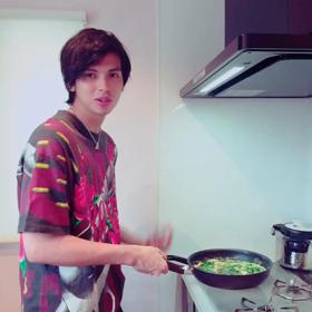 料理中〜♡の画像