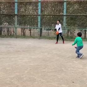 僕の僕のスーパー投げ方変化球!?の画像
