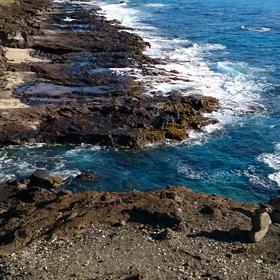 Hawaii☆HANAUMA BAY☆BOOちゃんと一緒に☆☆☆ピエンヌミニミニ手のひらの景色☆の画像