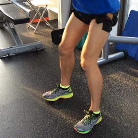 走ることに繋がる加圧トレーニングの画像