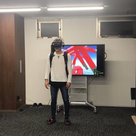 VRでテンションアゲアゲおじさんの画像
