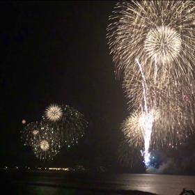 江ノ島 花火大会 2018の画像