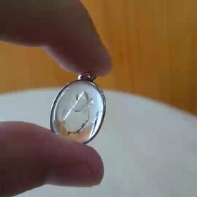水入り水晶ペンダント!の画像