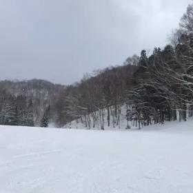 日帰りスノーボードの画像
