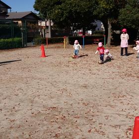 【サッカー普及 地域貢献活動】幼稚園・保育園巡回指導 そよ風保育園 戸塚園さんの画像