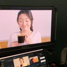 『ネスカフェゴールドブレンド 香り華やぐ』  の、TVコマーシャルに出演中です!の画像