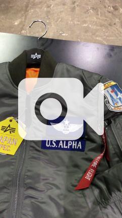alpha industries 日 版